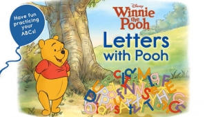 iPhone、iPadアプリ「Letters with Pooh」のスクリーンショット 1枚目
