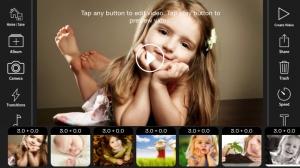 iPhone、iPadアプリ「FunSlides - Make HD video from photos」のスクリーンショット 1枚目