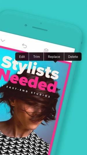 iPhone、iPadアプリ「Over: Edit Photos & Add Text」のスクリーンショット 5枚目