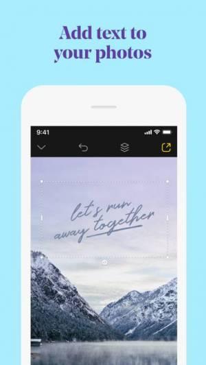 iPhone、iPadアプリ「Over: Graphic Design Maker」のスクリーンショット 2枚目