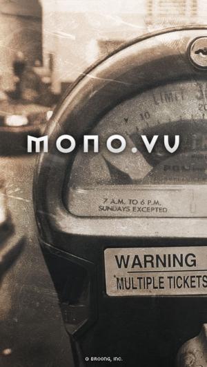 iPhone、iPadアプリ「モノビュ - 素敵なモノクロ写真を撮る」のスクリーンショット 1枚目