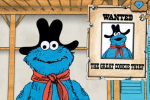 iPhone、iPadアプリ「The Great Cookie Thief... A Sesame Street App Starring Cookie Monster」のスクリーンショット 3枚目
