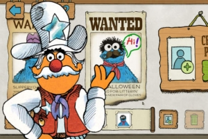 iPhone、iPadアプリ「The Great Cookie Thief... A Sesame Street App Starring Cookie Monster」のスクリーンショット 5枚目