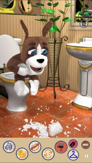 iPhone、iPadアプリ「子犬 - Talking Duke Dog 2 for iPhone/iPad」のスクリーンショット 4枚目
