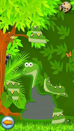 iPhone、iPadアプリ「ペット:ぬりえ動物、子供のためのゲーム 赤ちゃん - 無料」のスクリーンショット 5枚目