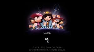 iPhone、iPadアプリ「3D Badminton II」のスクリーンショット 1枚目
