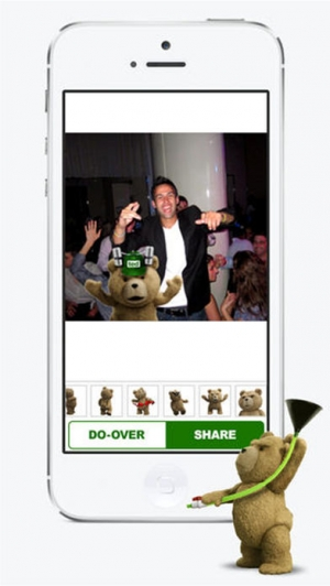 iPhone、iPadアプリ「My Wild Night With Ted - Ted the Movie」のスクリーンショット 3枚目