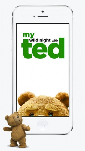iPhone、iPadアプリ「My Wild Night With Ted - Ted the Movie」のスクリーンショット 1枚目