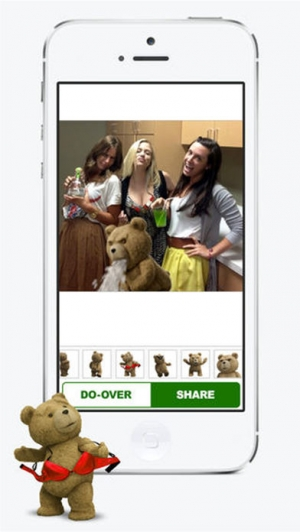 iPhone、iPadアプリ「My Wild Night With Ted - Ted the Movie」のスクリーンショット 4枚目
