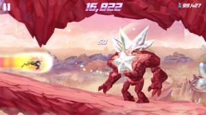 iPhone、iPadアプリ「Robot Unicorn Attack 2」のスクリーンショット 4枚目
