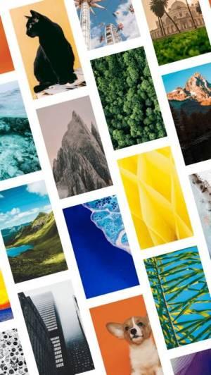 iPhone、iPadアプリ「OGQ Backgrounds(壁紙HD - クールな壁紙)」のスクリーンショット 2枚目