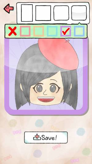 iPhone、iPadアプリ「Like me! 似顔絵をつくろう - ゆるかわ風」のスクリーンショット 3枚目
