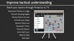 iPhone、iPadアプリ「CoachNote Soccer & Futsal : Sports Coach's Interactive Whiteboard」のスクリーンショット 3枚目