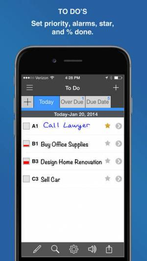 iPhone、iPadアプリ「InFocus Pro - All-in-One Organizer」のスクリーンショット 4枚目