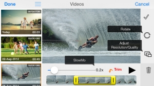 iPhone、iPadアプリ「MoviePro : Video Recorder with Limitless options」のスクリーンショット 4枚目