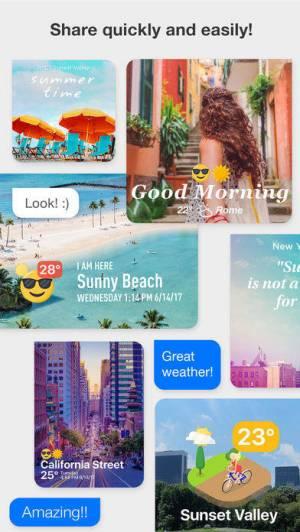 iPhone、iPadアプリ「WeatherShot Pro」のスクリーンショット 4枚目