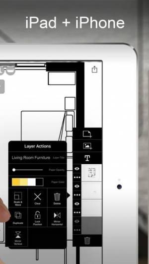 iPhone、iPadアプリ「Morpholio Trace -スケッチ CAD」のスクリーンショット 2枚目