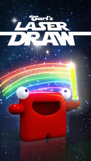 iPhone、iPadアプリ「Carl Laser Draw」のスクリーンショット 1枚目