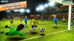 iPhone、iPadアプリ「Striker Soccer London: your goal is the gold」のスクリーンショット 2枚目