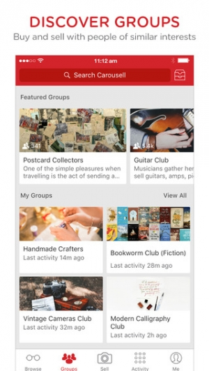 iPhone、iPadアプリ「Carousell - Snap to Sell, Chat to Buy」のスクリーンショット 4枚目