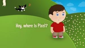 iPhone、iPadアプリ「Pixel and Parker : 子供のための読書アドベンチャーゲーム」のスクリーンショット 2枚目