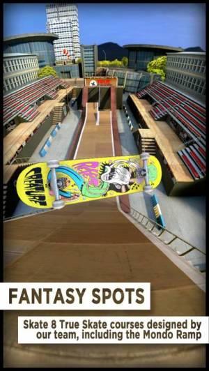 iPhone、iPadアプリ「True Skate」のスクリーンショット 1枚目