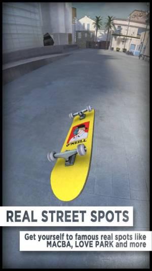 iPhone、iPadアプリ「True Skate」のスクリーンショット 2枚目