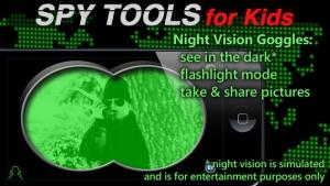iPhone、iPadアプリ「Spy Tools for Kids」のスクリーンショット 5枚目