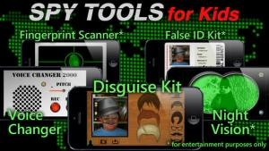 iPhone、iPadアプリ「Spy Tools for Kids」のスクリーンショット 1枚目
