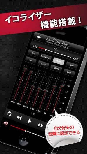 iPhone、iPadアプリ「music.jpハイレゾ歌詞対応 音楽プレイヤー」のスクリーンショット 4枚目