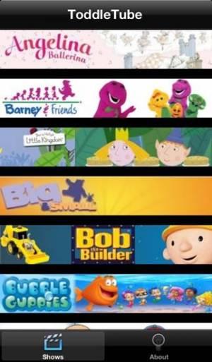 iPhone、iPadアプリ「ToddleTube」のスクリーンショット 4枚目