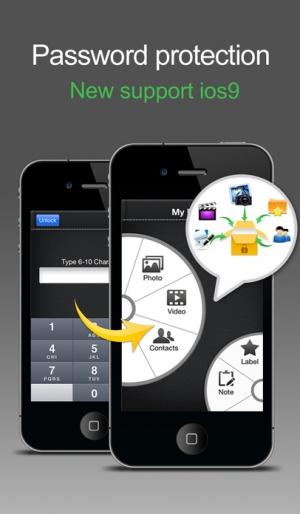 iPhone、iPadアプリ「MyFolder Pro & 私の秘密フォルダー Pro」のスクリーンショット 1枚目
