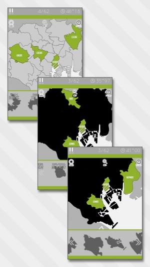 iPhone、iPadアプリ「あそんでまなべる 東京都地図パズル」のスクリーンショット 2枚目