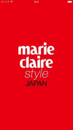 iPhone、iPadアプリ「marie claire style jp」のスクリーンショット 1枚目