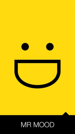 iPhone、iPadアプリ「Mr Mood」のスクリーンショット 1枚目
