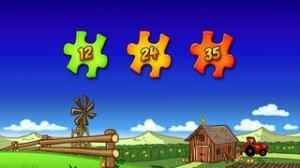 iPhone、iPadアプリ「子供のための動物のパズル - 農場 - Animal Puzzle for Kids & Tots」のスクリーンショット 3枚目
