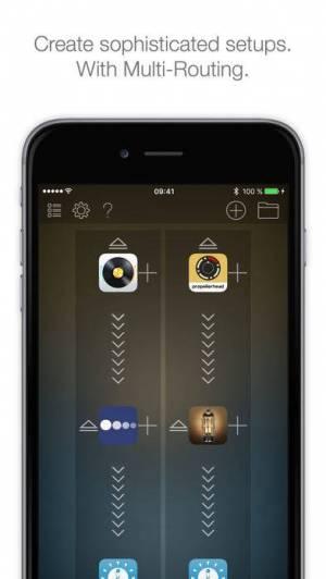 iPhone、iPadアプリ「Audiobus 2」のスクリーンショット 2枚目