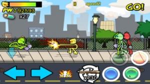 iPhone、iPadアプリ「AngerOfStick3: Invasion」のスクリーンショット 5枚目