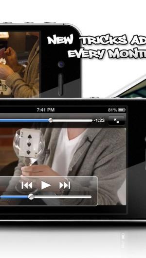 iPhone、iPadアプリ「Card Tricks Pro - Card Trick Video Lessons」のスクリーンショット 3枚目