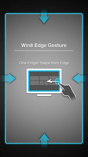 iPhone、iPadアプリ「Gesture Touchpad for Win8」のスクリーンショット 2枚目