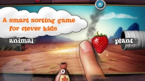 iPhone、iPadアプリ「Sortee - a smart sorting game for clever kids」のスクリーンショット 1枚目