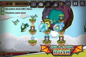 iPhone、iPadアプリ「ドラゴンラッシュ」のスクリーンショット 2枚目