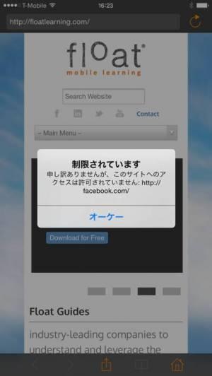 iPhone、iPadアプリ「Sandbox Web Browser」のスクリーンショット 3枚目