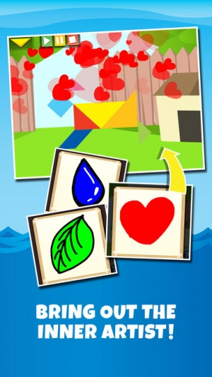 iPhone、iPadアプリ「Kids Learning Puzzles: Ships & Boats, K12 Tangram」のスクリーンショット 4枚目