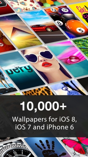 iPhone、iPadアプリ「10,000+ Wallpapers for iPhone 6/6 Plus」のスクリーンショット 1枚目