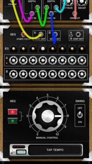 iPhone、iPadアプリ「TANSU Synth」のスクリーンショット 2枚目
