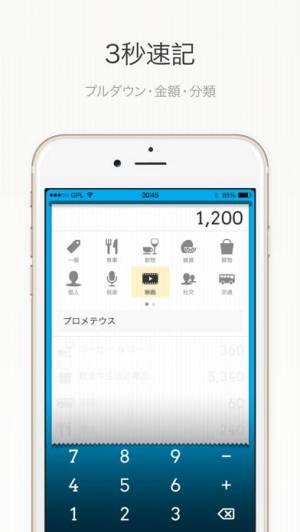 iPhone、iPadアプリ「DailyCost - 優雅な簿記」のスクリーンショット 2枚目