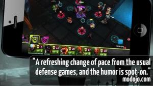 iPhone、iPadアプリ「Vampire Season - Monster Defense」のスクリーンショット 5枚目