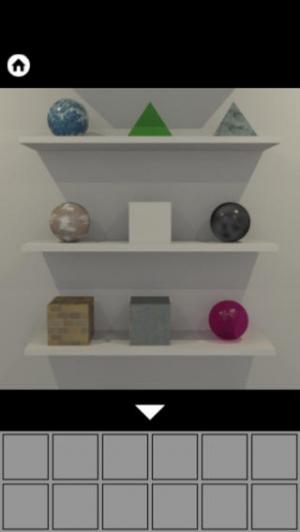 iPhone、iPadアプリ「脱出ゲーム WHITE ROOM」のスクリーンショット 2枚目