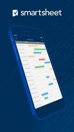 iPhone、iPadアプリ「Smartsheet」のスクリーンショット 1枚目